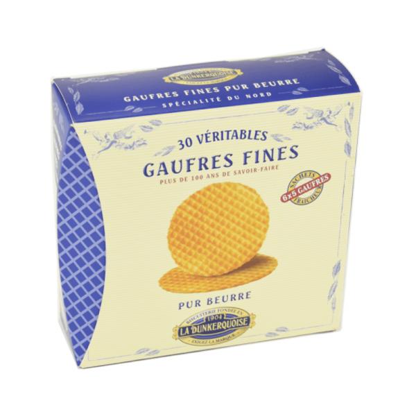 boîte gaufre fine pur beurre