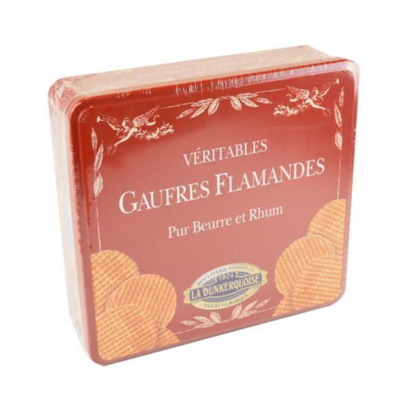 coffret metal gaufre fine pur beurre