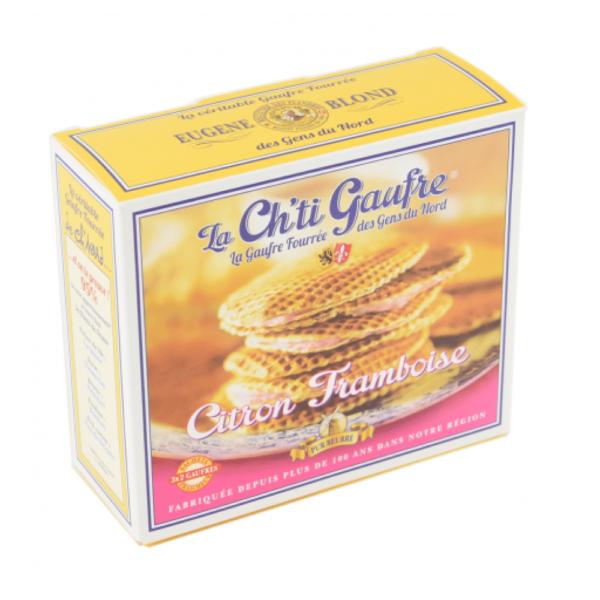 chti gaufre fourrée framboise-citron