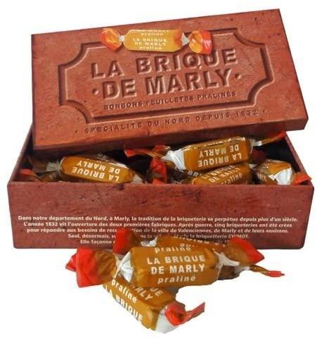 La brique de Marly, bonbon originaire de la ville de Marly