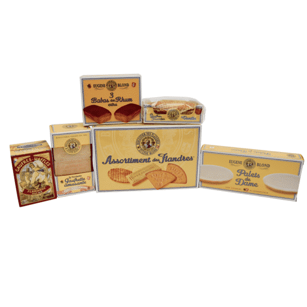 pack biscuits eugène blond et dunkerquoise