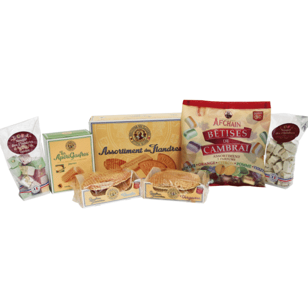 pack confiserie et biscuiterie