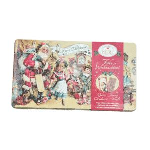 Tablette de chocolat Joyeux Noël